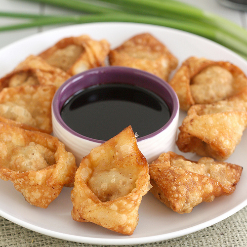 Fried Pork And Shrimp Wontons Tracey S Culinary Adventures
