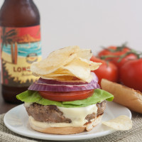 Pass the Cook Book Club: Turkey Crunchburgers with Horseradish Mustard Sauce