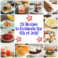 25 Recipes for the 4th of July!