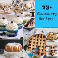 75+ Blueberry Recipes for Blueberry Week