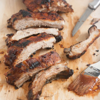 Foolproof Ribs with Homemade Barbecue Sauce
