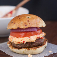 Pimiento Cheese Burgers