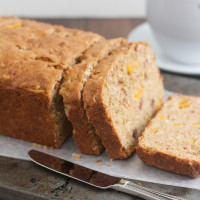 Whole Wheat Peach-Oatmeal Bread