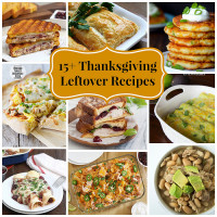 15+ Ideas for Thanksgiving Leftovers!