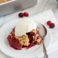 Cranberry-Almond Crunch and a Giveaway!